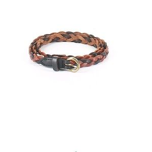 Madewell Accessories - Madewell Leather Braided Belt in Brown and Black